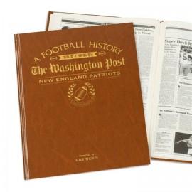 Personalised American Football History Book