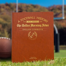 Personalised American Football History Book