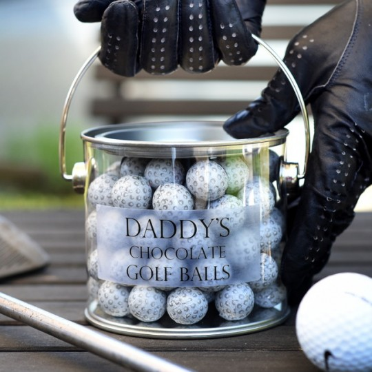 Personalised Chocolate Golfballs