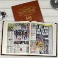 Personalised British Cycling Heroes History Book