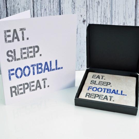 Gift Set Football Card and Coaster