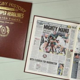 Personalised Rugby Union History Book