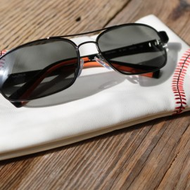 Genuine Baseball Sunglasses Case