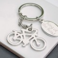 Personalised Cycling Keyring