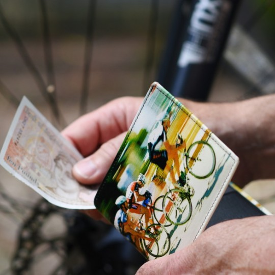 Cyclist Wallet