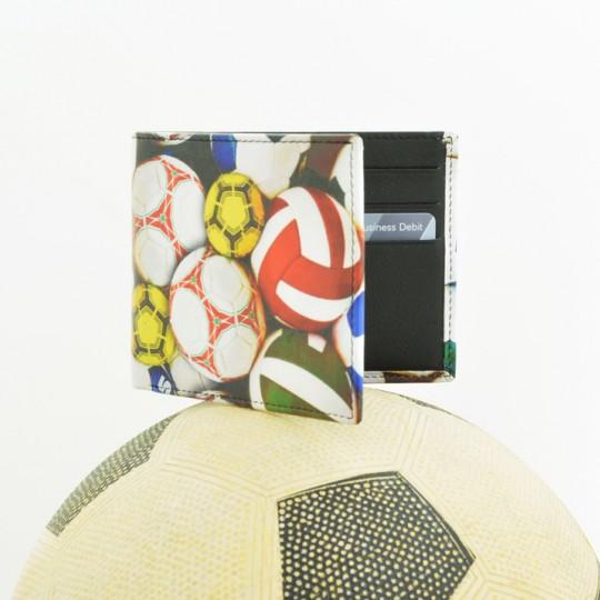 Multi Football Leather Wallet