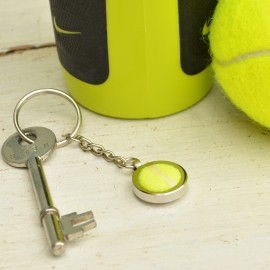 Genuine Tennis Ball Keyring