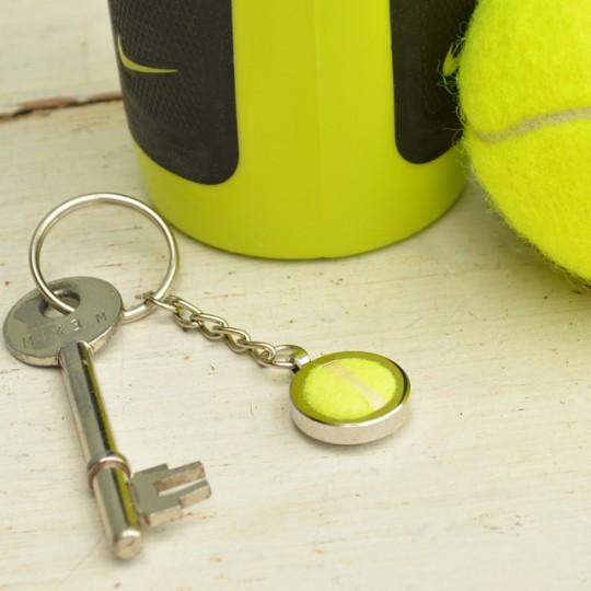 Genuine Tennis Ball Keyring