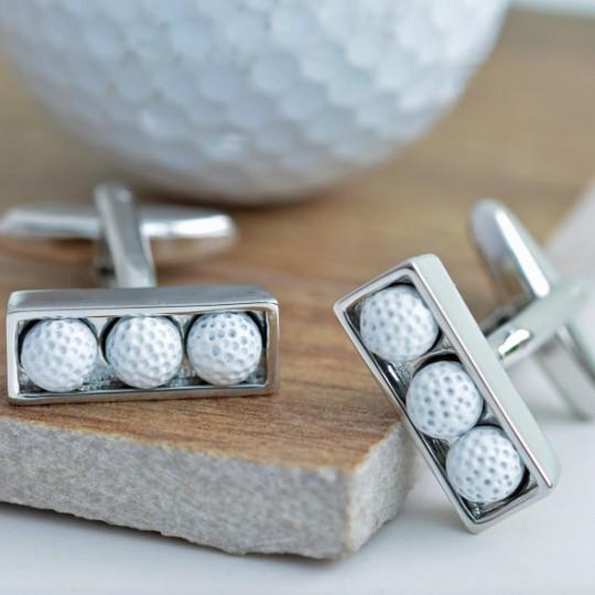 Golf Balls Cufflinks