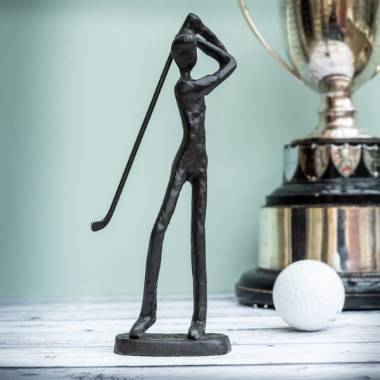 Golfer Sculpture