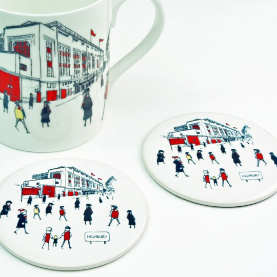 Highbury Football Stadium Mug