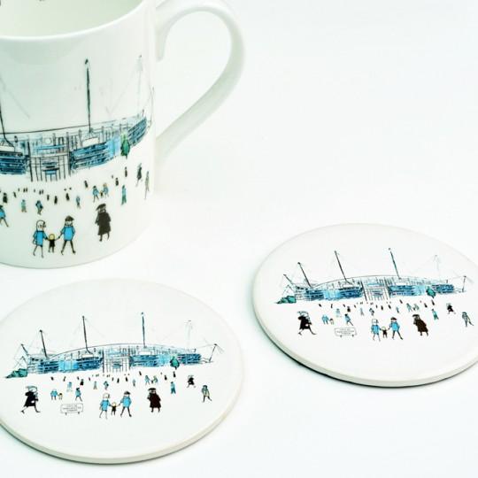 City of Manchester Football Stadium Mug