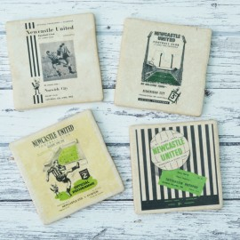 Newcastle Utd Football Coasters