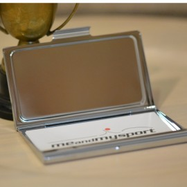 Enamelled Rugby Business Card Case