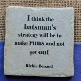 Famous Cricket Quotes Coasters