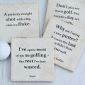 Famous Golf Quotes Coasters