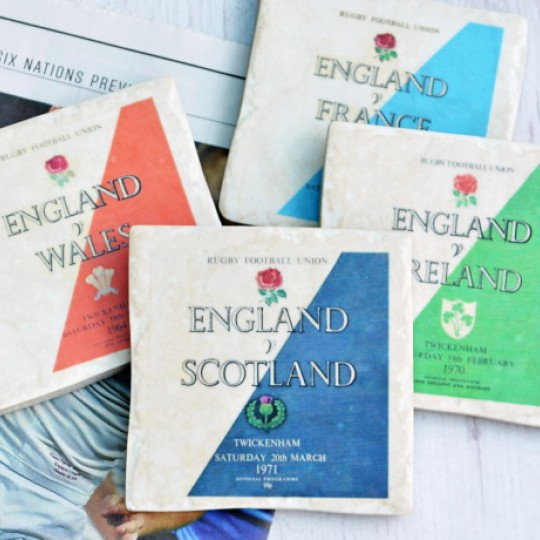 Six Nations Rugby Coasters