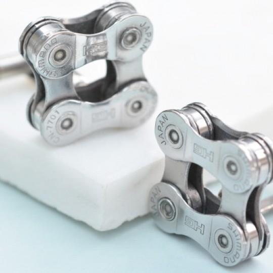Shimano Bicycle Chain Cufflinks