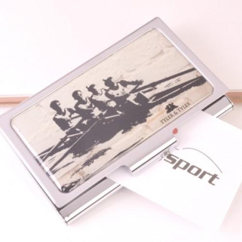 Enamel Rowing Business Card Case