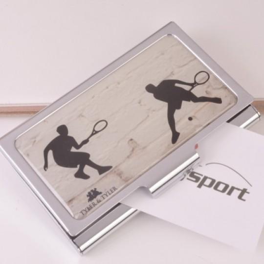 Tennis Business Card Case