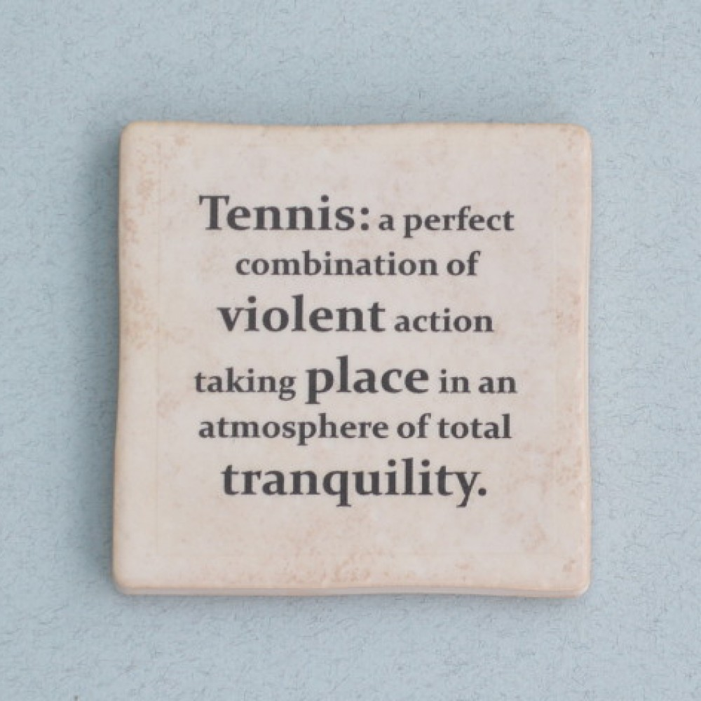 Tennis Quotes | Famous Tennis Quotes Set Of Coasters