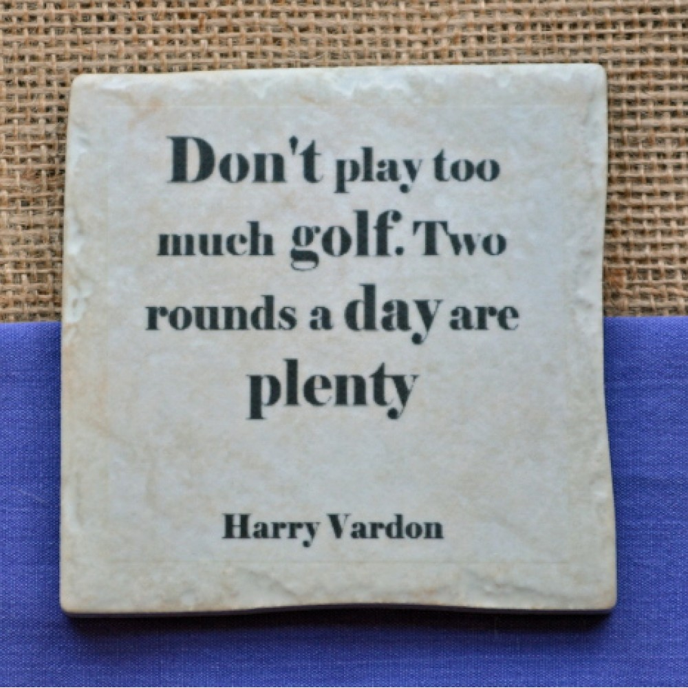 Famous Golf Quotes Golf Quotes Coasters