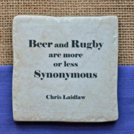 Famous Rugby Quotes Coasters