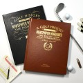 Personalised Golf History Book