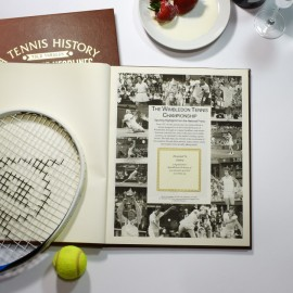 Personalised Wimbledon History Book