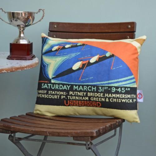 Boat Race Cushion 1928