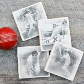 Set of 4 Cricket Coasters
