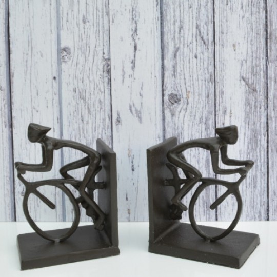 Cyclist Bookends