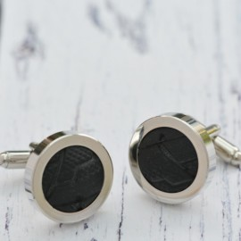 Genuine Bicycle Tyre Cufflinks