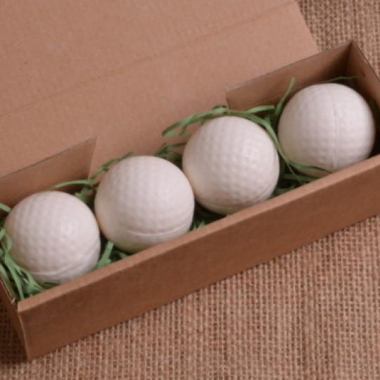 Set of 4 Golf Ball Soaps