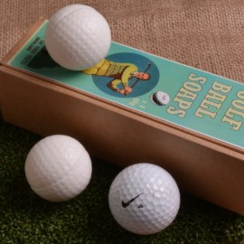 Set of 4 Golf Ball Soaps