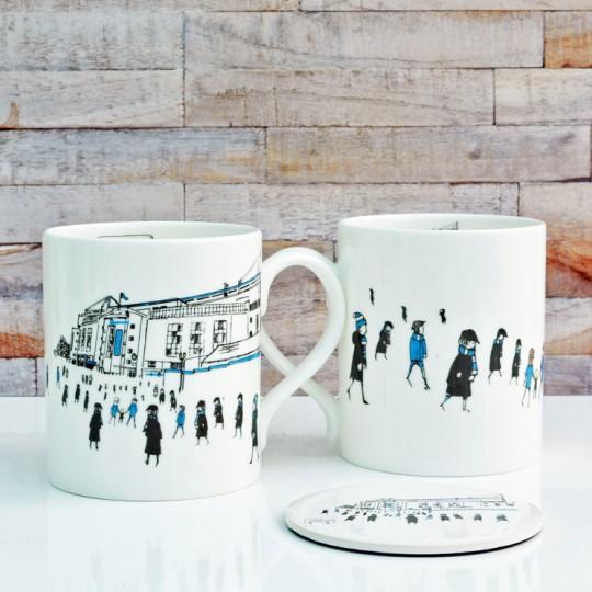 Stamford Bridge Football Stadium Mug