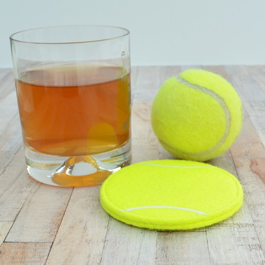 Genuine Tennis Ball Coaster