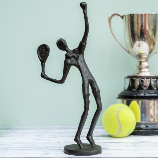 Tennis Sculpture