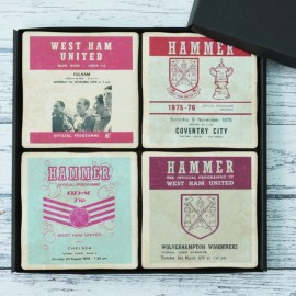 West Ham Football Coasters